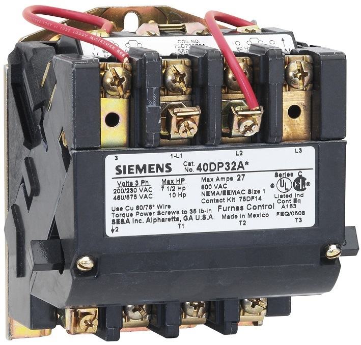 Siemens (Furnas) Nema Rated Contactors