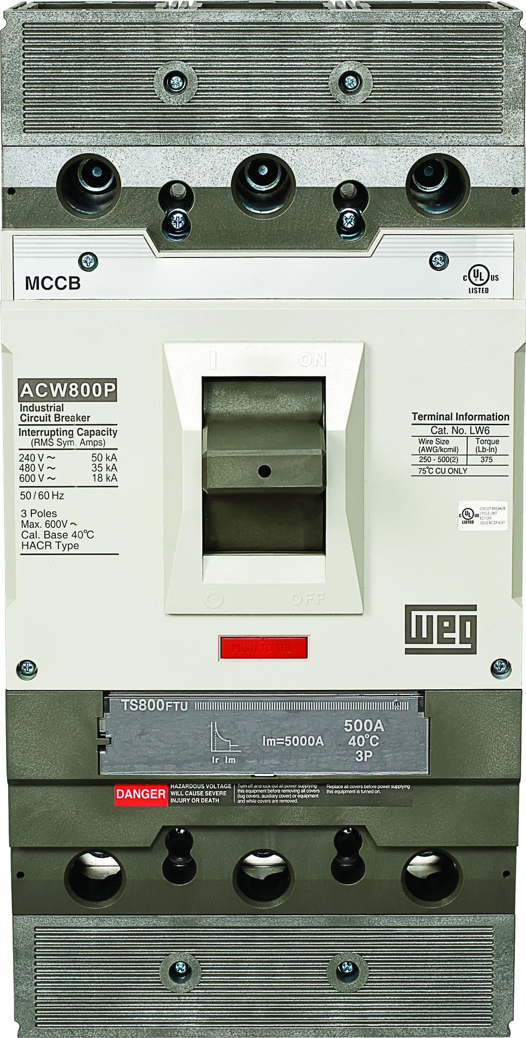 WEG Electric Circuit Breakers