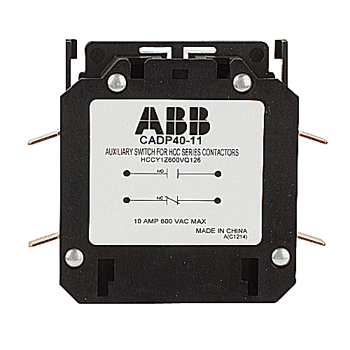 Definite Purpose Contactor Accessories