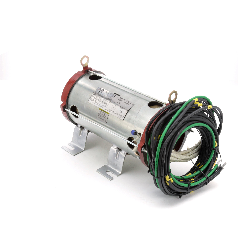 leeson electric, lm29671, 50hp, submersible hydraulic elevator pump motor