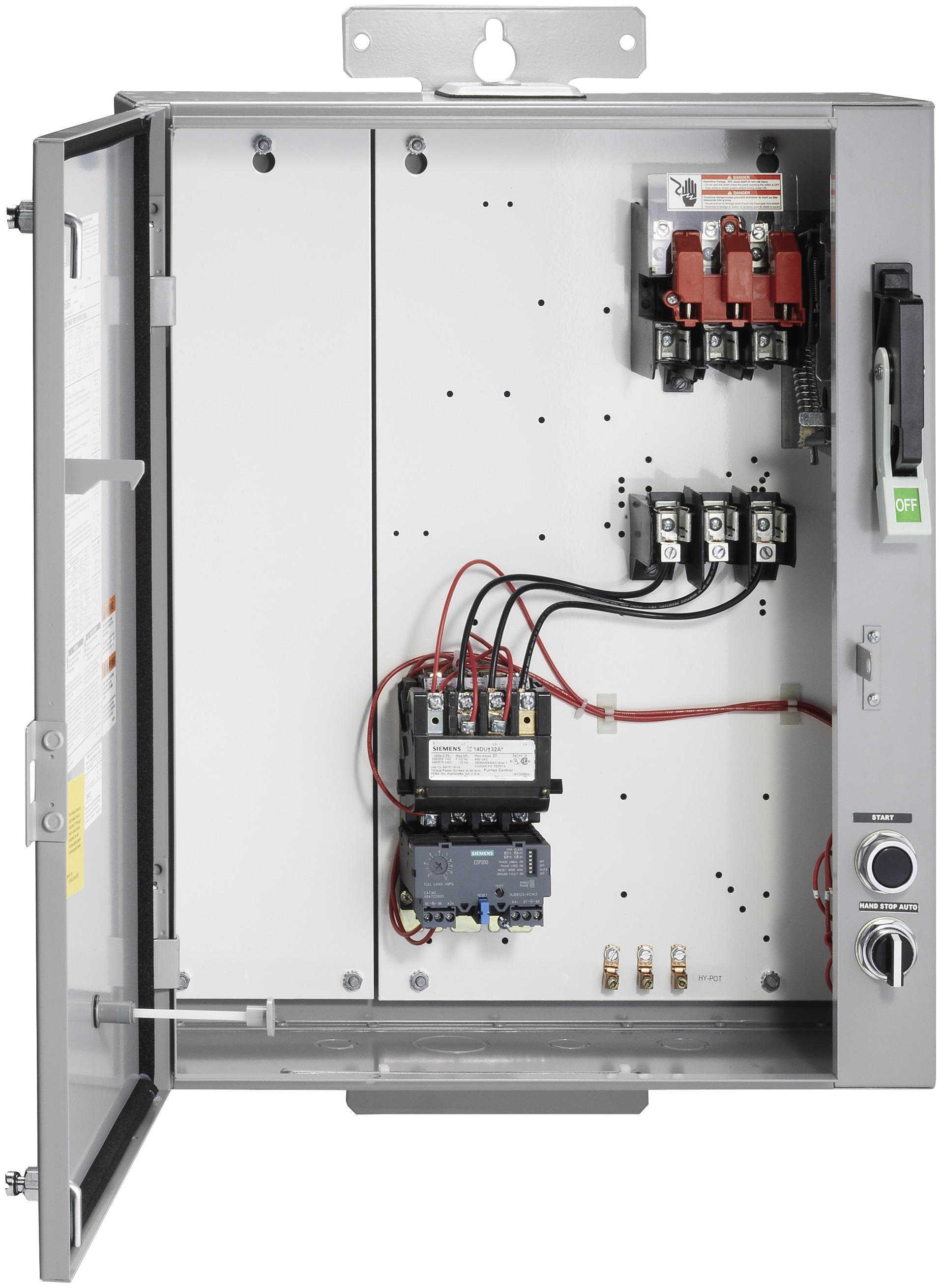 Siemens Furnas 87hug6pg Pump Combination Control Panels