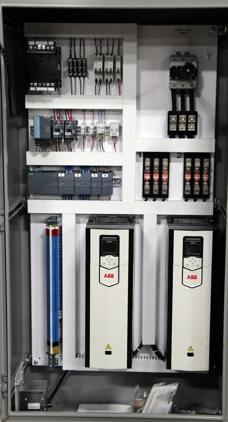 Custom Electrical & Motor Control Panels – State Motor