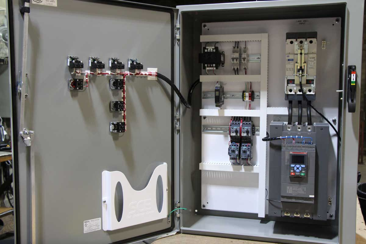 Of Power And Control Of A Stop Start Station Motor Control Circuit