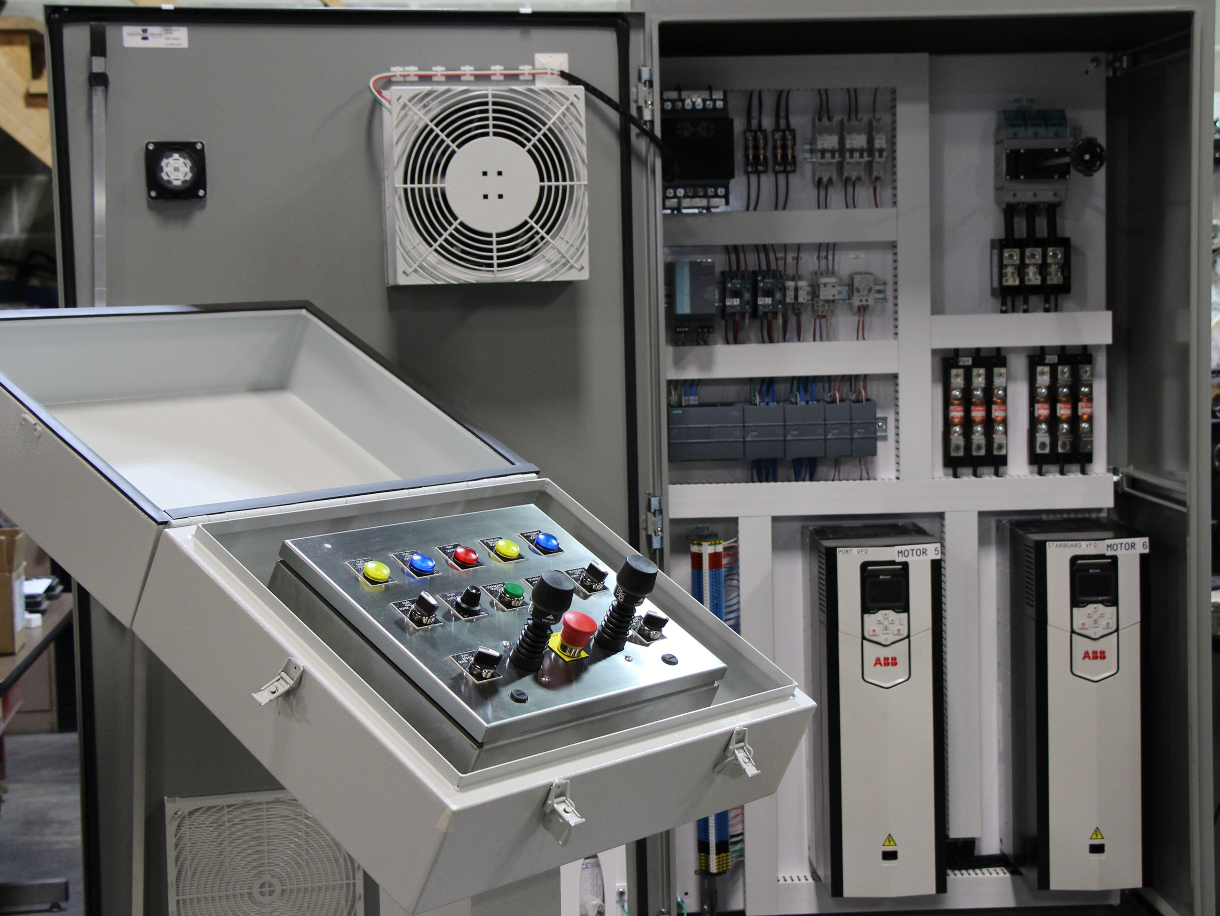 Abb Drive Custom Control Package Experts Ul508 Panel Shop