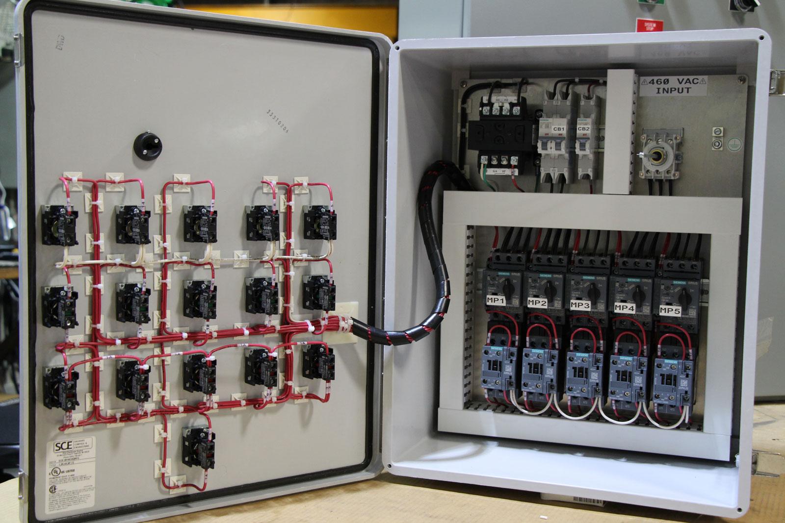 Pump Duplex Panel